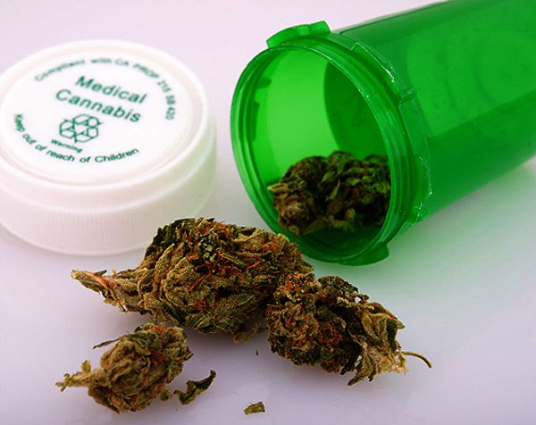 Medical marijuana by Shutterstock.