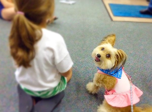 Jeanie also helps teach kids about kindness to animals.