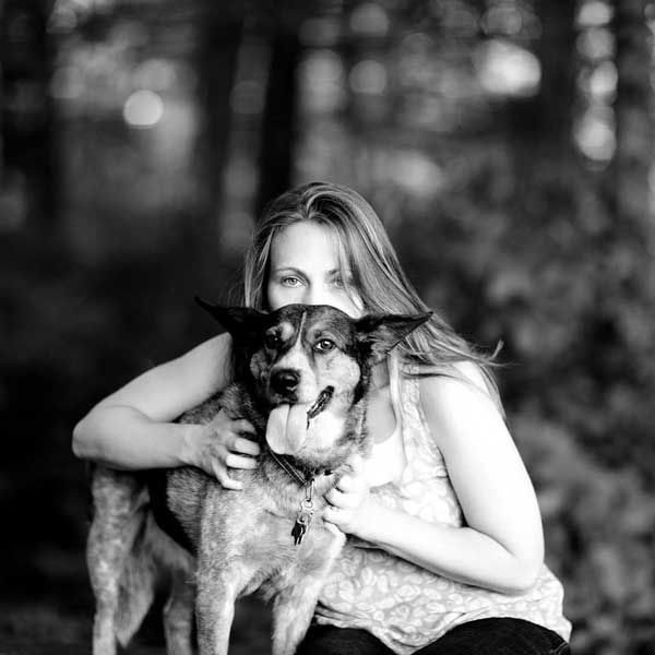 With my Maybelle. (Photo by Leah Morgan.)