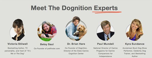 Here are just a few of the Dognition experts.