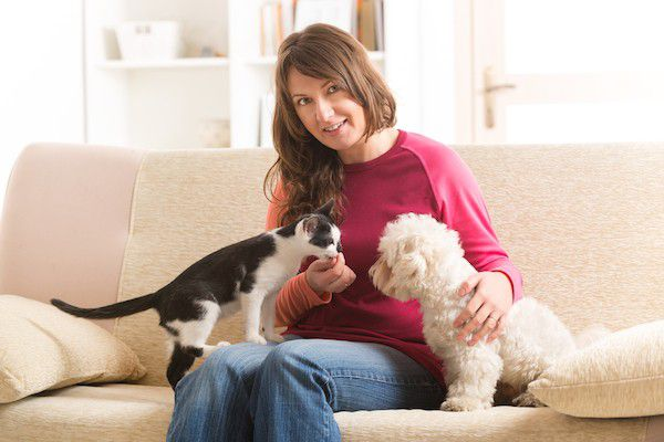 Cat and dog by Shutterstock.