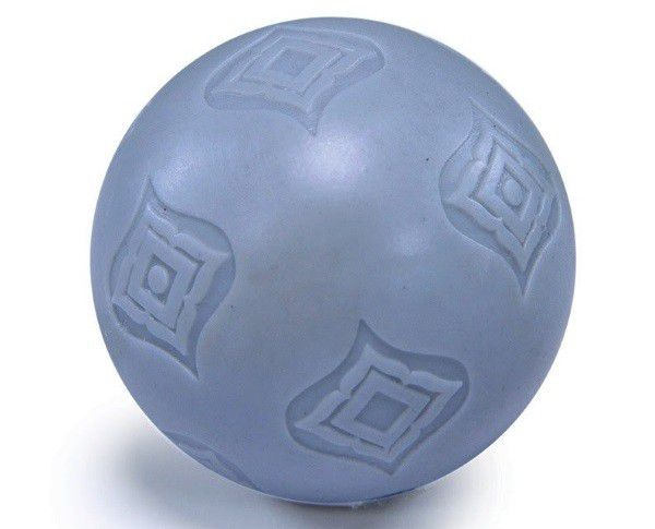 This toy ball is something that dogs and children could play with together.