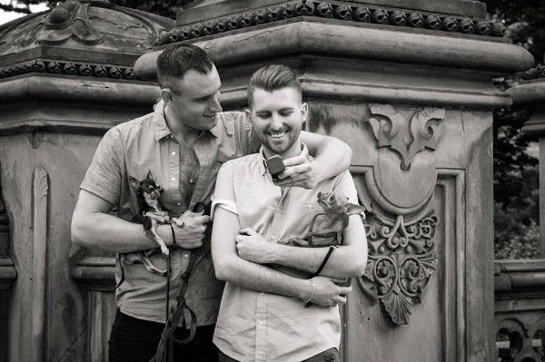 Mervin has a new little brother, Jack, and his dads, Michael (left) and Joey, announced their engagement on Mervin's social media.