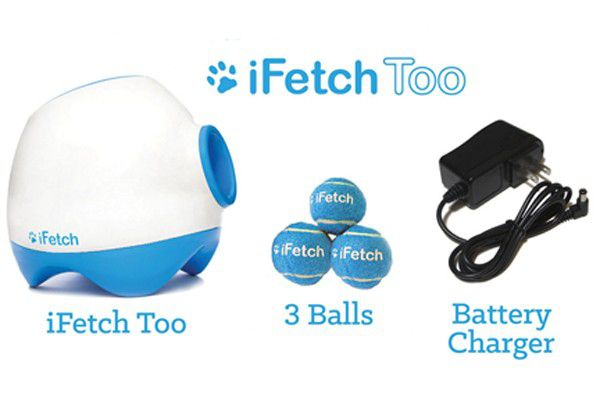 IFetch Too automatic ball launcher know comes in a bigger size for larger dogs.