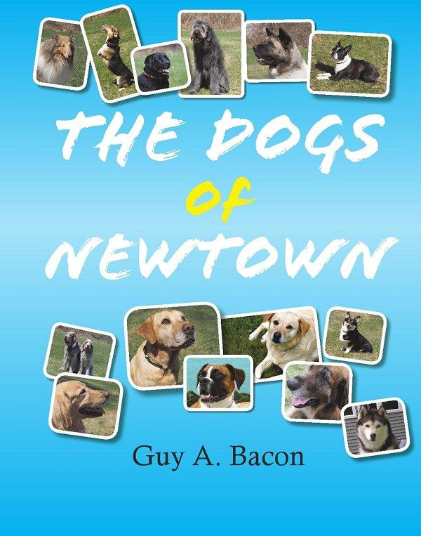 Guy Bacon began to write The Dogs of Newtown when he was 10 years old. Image provided.