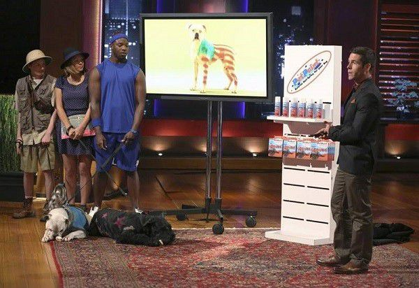 PetPaint on ABC's Shark Tank (Photo courtesy of PetPaint's Facebook Page)