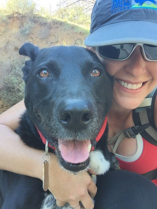 My baby boy, Riggins, and me. (All photos by Wendy Newell)