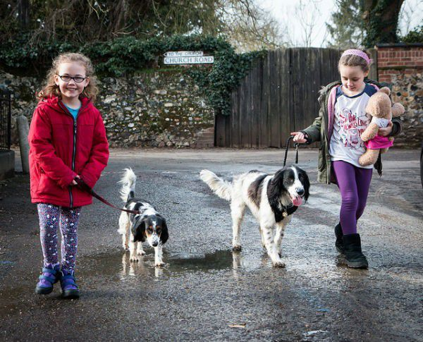 Do all of your family members like the dog? Kids are more likely to help with the responsibilities if they feel they had a say in the decision. Photo Credit: Barney Moss