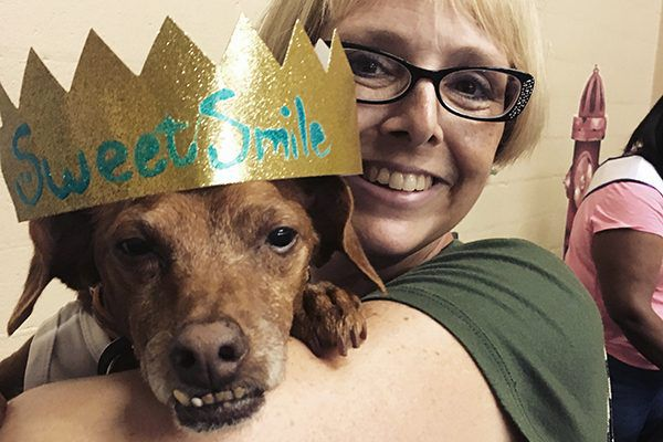Tampa came home with the crown for Best Smile! Photography by Melissa Kauffman.