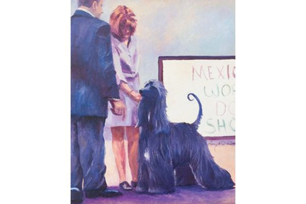 Artist Terry D. Chacon; courtesy AKC Museum of the Dog.