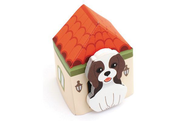 Thehaki Puppy House-It Sticky Notes.