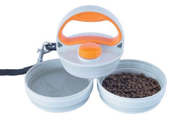 The Pet Dinette & Leash is a great find at sitstaygoco.com.