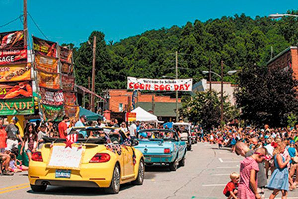 Every year Saluda, North Carolina, throws its annual Coon Dog Day Festival.