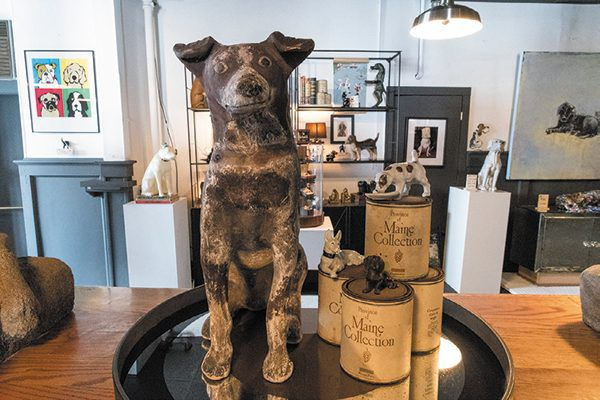 The Museum of Dog is blocks away from the Massachusetts Museum of Contemporary Art. Photography ©Barry Goldstein.