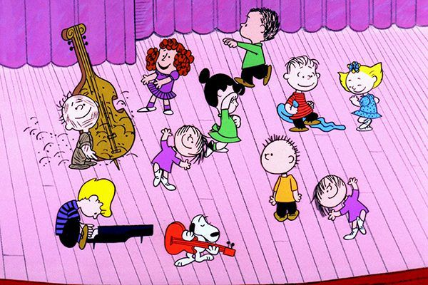 Watch A CHARLIE BROWN CHRISTMAS (1965) with your pups.