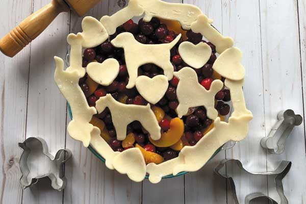 Check out this dog-themed pie you can make yourself.