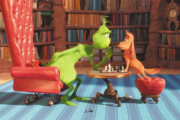 Add The Grinch to your list of holiday movies to watch. Courtesy Illumination Entertainment and Universal Pictures.