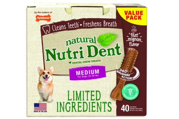 Nylabone Limited-Ingredient Dental Chews