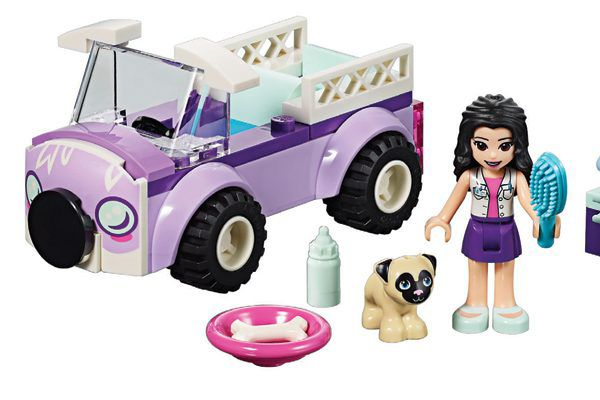 Lego Friends Emma's Mobile Vet