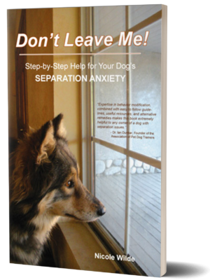 separation anxiety training book cover