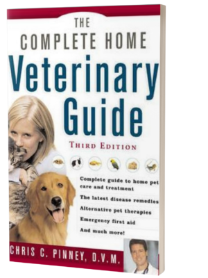 complete home veterinary guide book cover