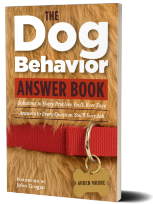 the dog behavior answer book cover